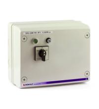 Станция управления QSM 200 для погружных скважинных электронасосов Pedrollo с датчиками уровня