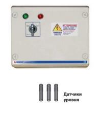 Станция управления QST 075 для погружных скважинных электронасосов Pedrollo с датчиками уровня